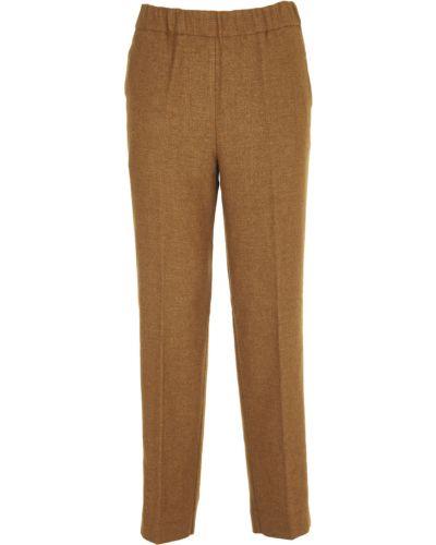 Brązowe spodnie Pomandere