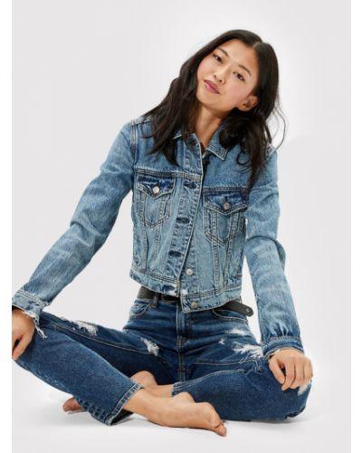 Kurtka jeansowa - niebieska American Eagle