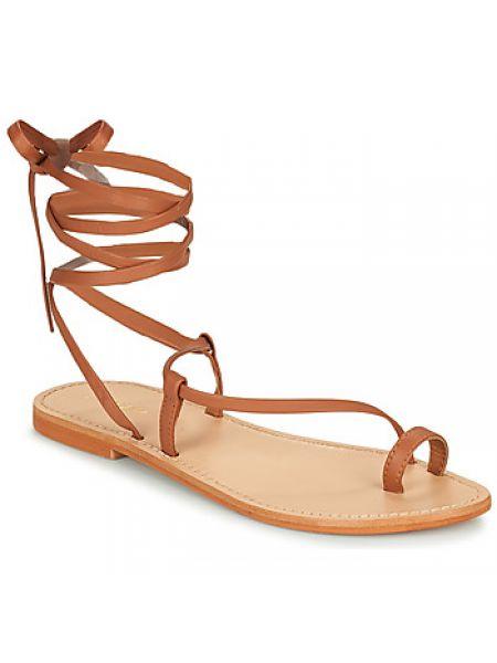 Brązowe sandały Jonak