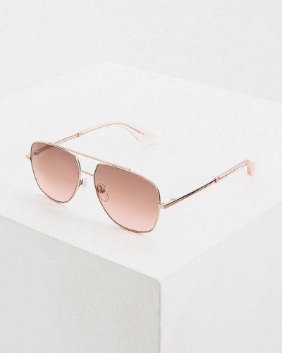 Солнцезащитные очки розовый прямоугольный Marc Jacobs