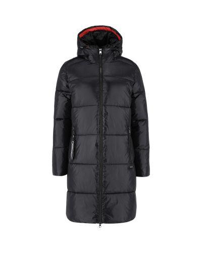 Стеганое пальто - черное Luhta