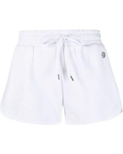 Льняные белые шорты с карманами Michael Michael Kors