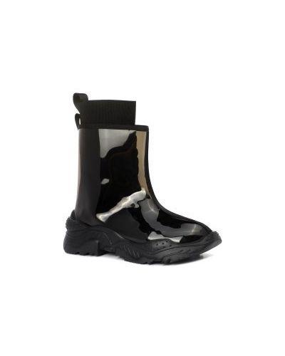 Ботинки черные черные Gianni Renzi