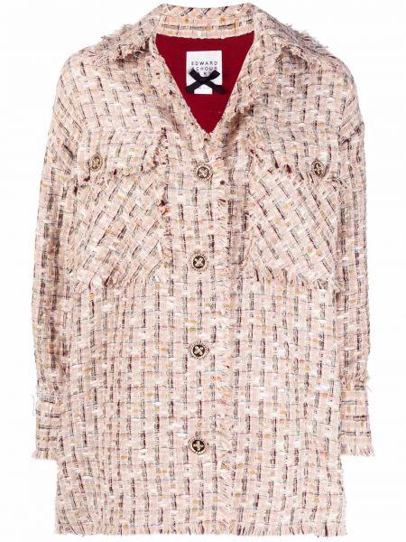 Koszula oversize - beżowa Edward Achour Paris
