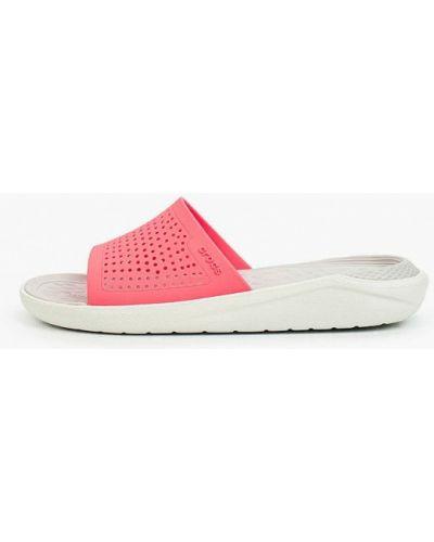 Пляжные шлепанцы Crocs