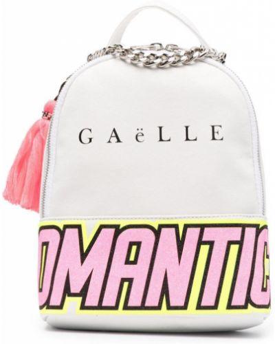 С ремешком нейлоновый белый рюкзак Gaelle Paris Kids
