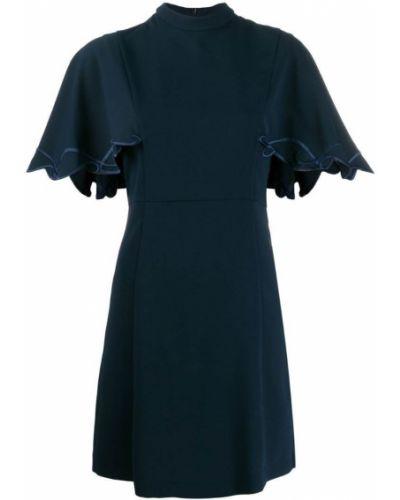 Платье мини с вышивкой с воротником See By Chloé