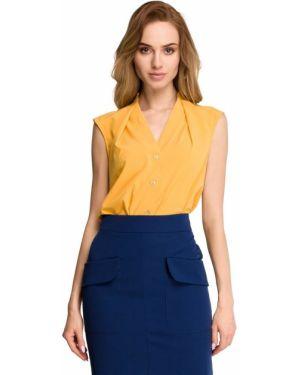 Złota bluzka - żółta Stylove