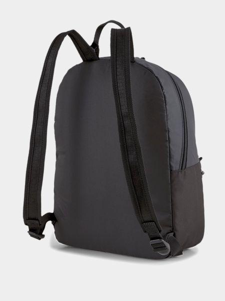 Нейлоновый черный рюкзак на молнии Puma