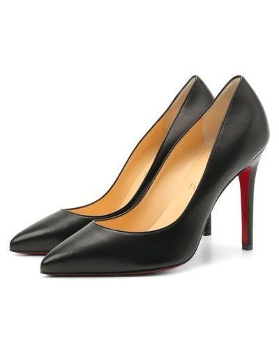 Кожаные туфли с подкладкой Christian Louboutin