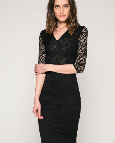 Платье миди с V-образным вырезом облегающее Marciano Guess