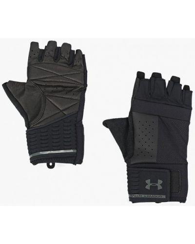 Перчатки для фитнеса черные Under Armour