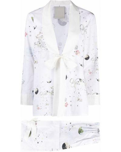 Kostium z rękawami spodni garnitur z klapami Seen Users