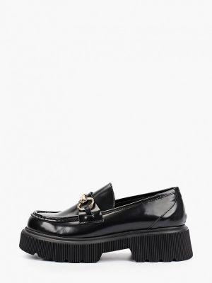Черные итальянские туфли Lamania