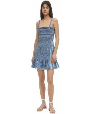 Ажурное платье мини Cecilie Copenhagen