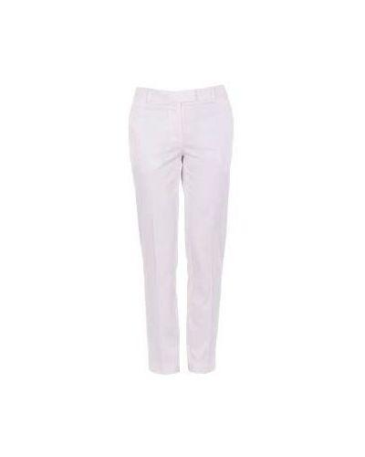 Белые летние брюки Moschino Cheapandchic