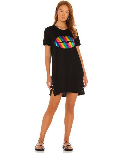 Платье рубашка - черное Lauren Moshi