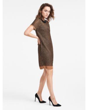 Пляжное платье платье-русалка черное Wolford