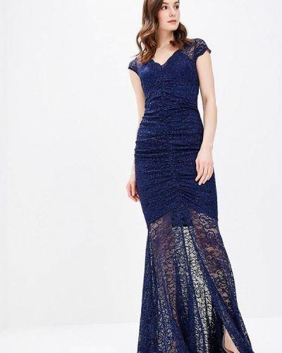 Синее платье весеннее Goddiva