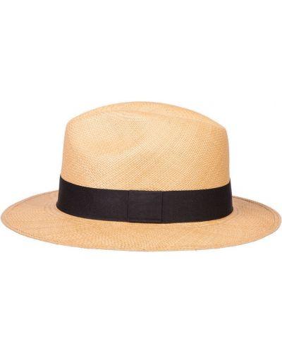 Шляпа соломенная бежевый свободного кроя Canoe