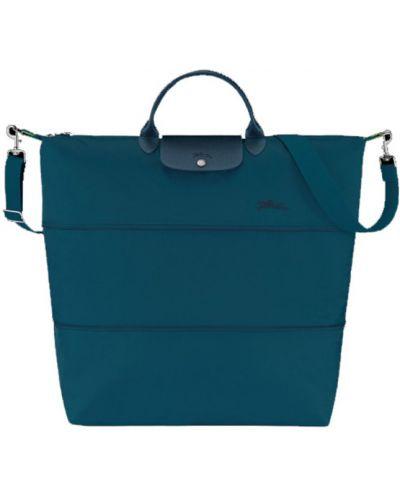 Niebieska torba podróżna Longchamp