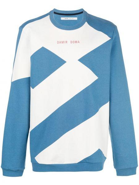 Niebieska bluza bawełniana Damir Doma