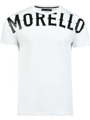 Белая футболка хлопковая Frankie Morello