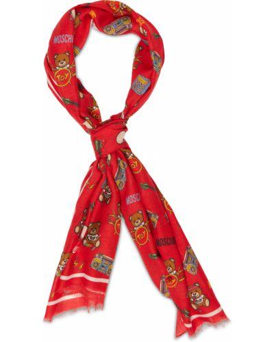 Szal - czerwona Love Moschino