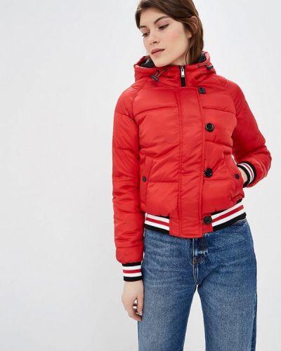 Утепленная куртка - красная Jennyfer