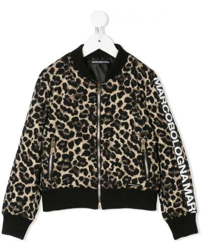 Куртка в рубчик черная Marco Bologna Kids