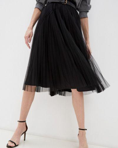 Плиссированная юбка - черная Max&co