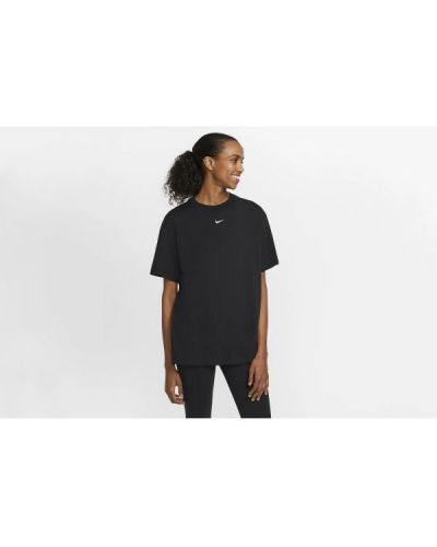 T-shirt bawełniana - czarna Nike