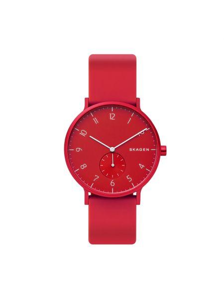 Zegarek - czerwony Skagen