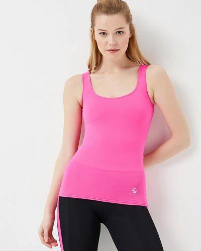 Майка спортивная розовый Sitlly