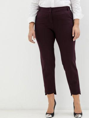 Зауженные брюки - фиолетовые мадам т