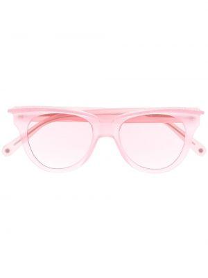 Różowe okulary srebrne Philipp Plein