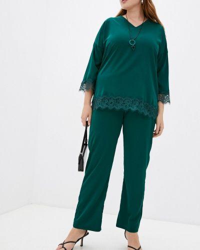 Зеленый зимний костюм Hey Look