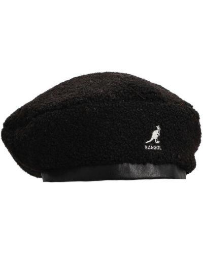 Czarna beret Kangol