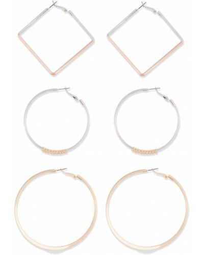 Серьги-кольца набор набор Bonprix