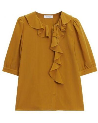 Pomarańczowa koszula Rodebjer