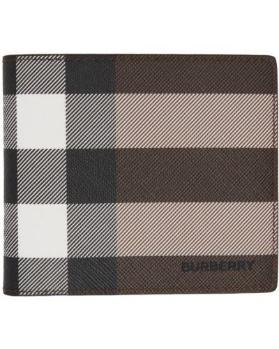 Czarny portfel Burberry