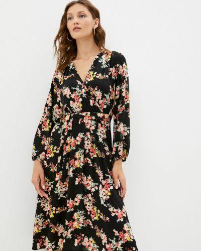 Платье с запахом - черное Vittoria Vicci