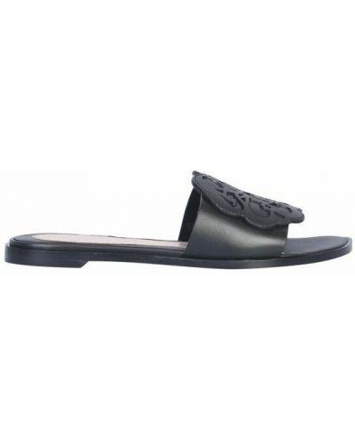 Sandały - czarne Alexander Mcqueen