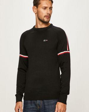 Sweter z wzorem z raglanowymi rękawami Tommy Hilfiger