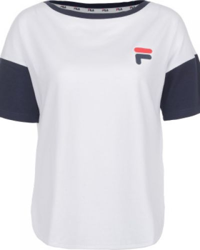 Спортивная футболка прямая хлопковая Fila