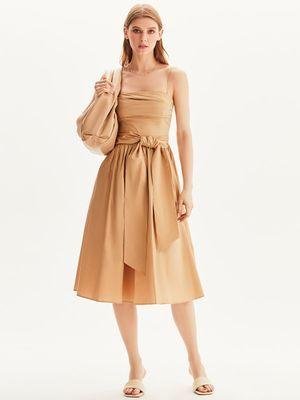 Хлопковое платье миди Love Republic