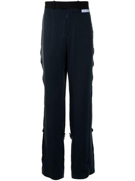 Czarny spodni spodnie z paskiem Off-white