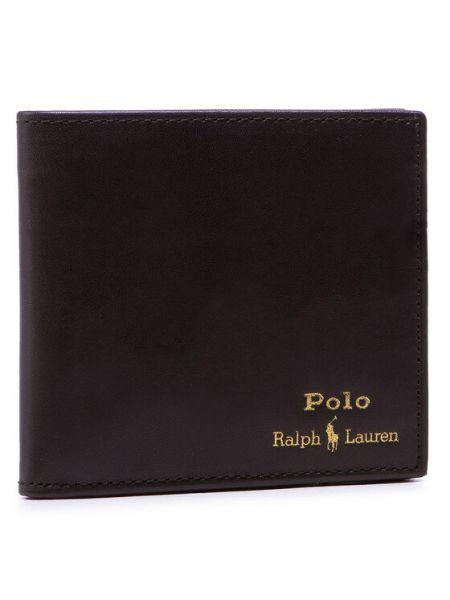 Brązowy portfel Polo Ralph Lauren