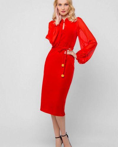 Вечернее платье - красное Jn