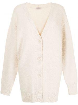 Biały z kaszmiru sweter Mrz